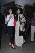 Shilpa Shetty, Sonam Kapoor at Bajirao Mastani screening in Sunny Super Sound on 17th Dec 2015