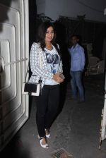 Shreya Ghoshal at Bajirao Mastani screening in Sunny Super Sound on 17th Dec 2015