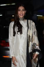 Sonam Kapoor at Bajirao Mastani screening in Sunny Super Sound on 17th Dec 2015