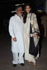 Sonam Kapoor, Sanjay Leela Bhansali at Bajirao Mastani screening in Sunny Super Sound on 17th Dec 2015