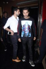 Varun Dhawan at Bajirao Mastani screening in Sunny Super Sound on 17th Dec 2015