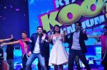 Aftab Shivdasani, Gauhar Khan, Tusshar Kapoor at Kya Kool Hain Hum 3 launch on 18th Dec 2015 (53)_5675581705ee5.JPG
