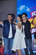 Aftab Shivdasani, Gauhar Khan, Tusshar Kapoor at Kya Kool Hain Hum 3 launch on 18th Dec 2015 (61)_567558198030b.JPG