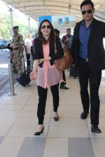 Madhuri Dixit snapped at airport on 18th Dec 2015