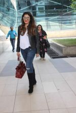 Raveena Tandon snapped at airport on 18th Dec 2015