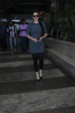 Kainaat Arora snapped at airport on 19th Dec 2015