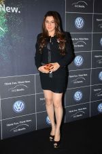 Kehkashan Patel at Volkswagen car launch on 19th Dec 2015