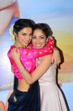 Yami Gautam, Divya Kumar at Sanam Re launchw on 19th Dec 2015