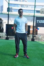 Dino Morea at a sports activitiy in Versova on 20th Dec 2015