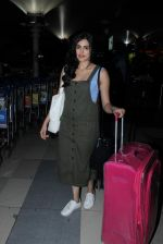Adah Sharma snapped at airport on 21st Dec 2015