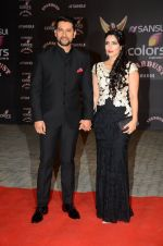 Aftab Shivdasani at the red carpet of Stardust awards on 21st Dec 2015