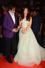 Aishwarya Rai Bachchan, Amitabh Bachchan at the red carpet of Stardust awards on 21st Dec 2015 (1385)_567941e4be642.JPG