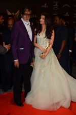 Aishwarya Rai Bachchan, Amitabh Bachchan at the red carpet of Stardust awards on 21st Dec 2015 (1389)_567941e865bdf.JPG