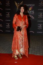 Alka Yagnik at the red carpet of Stardust awards on 21st Dec 2015 (536)_567953f18dcad.JPG