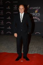 Anupam Kher at the red carpet of Stardust awards on 21st Dec 2015