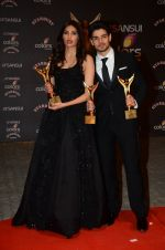 Athiya Shetty, Sooraj Pancholi at the red carpet of Stardust awards on 21st Dec 2015