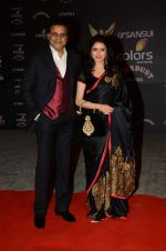 Bhagyashree at the red carpet of Stardust awards on 21st Dec 2015 (306)_56795434b07e4.JPG
