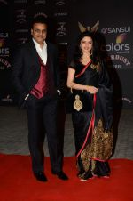 Bhagyashree at the red carpet of Stardust awards on 21st Dec 2015