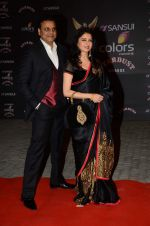 Bhagyashree at the red carpet of Stardust awards on 21st Dec 2015 (308)_5679543682fee.JPG