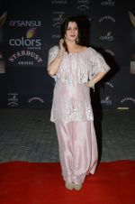Kainaat Arora at the red carpet of Stardust awards on 21st Dec 2015