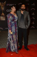 Preeti Jhangiani, Pravin Dabas at the red carpet of Stardust awards on 21st Dec 2015 (848)_56793e91439c2.JPG