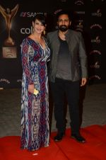 Preeti Jhangiani, Pravin Dabas at the red carpet of Stardust awards on 21st Dec 2015 (845)_5679400380c9d.JPG