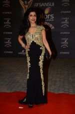 Shibani Kashyap at the red carpet of Stardust awards on 21st Dec 2015