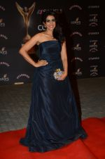 Sonali Kulkarni at the red carpet of Stardust awards on 21st Dec 2015