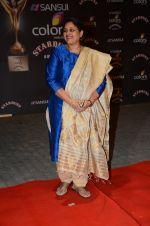 Supriya Pathak at the red carpet of Stardust awards on 21st Dec 2015 (842)_5679537808f60.JPG