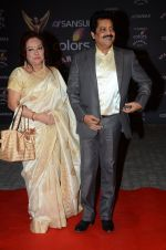 Udit Narayan at the red carpet of Stardust awards on 21st Dec 2015