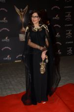 Zeenat Aman at the red carpet of Stardust awards on 21st Dec 2015