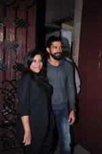 Farhan Akhtar, Zoya Akhtar at Anil kapoor_s bday bash on 23rd Dec 2015 (75)_567bcc91c4c04.JPG