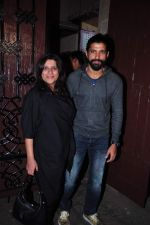 Farhan Akhtar, Zoya Akhtar at Anil kapoor_s bday bash on 23rd Dec 2015 (72)_567bcc905e42d.JPG