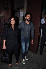 Farhan Akhtar, Zoya Akhtar at Anil kapoor_s bday bash on 23rd Dec 2015 (73)_567bcc9129c01.JPG