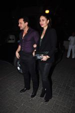 Kareena Kapoor, Saif Ali Khan at Anil kapoor