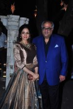 Sridevi, Boney Kapoor at Anil kapoor