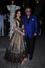 Sridevi, Boney Kapoor at Anil kapoor_s bday bash on 23rd Dec 2015 (20)_567bcd7ce6cae.JPG