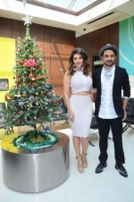 Sunny Leone at xmas shoot with vir das on 23rd Dec 2015