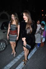 Amrita Arora, Malaika Arora Khan Visit St. Marry Church For Christmas Eve on 25th Dec 2015