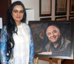 Padmini Kolhapure at the Retrospective Exhibition of Legendry Artist J P Singhal launched at Jehangir Art Gallery on 24th Dec 2015 (2)_567cf4e9d0bb7.jpg