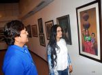 Padmini Kolhapure at the Retrospective Exhibition of Legendry Artist J P Singhal launched at Jehangir Art Gallery on 24th Dec 2015 (3)_567cf4ebca807.jpg