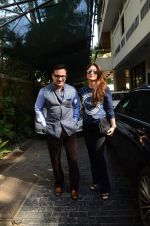 Kareena Kapoor, Saif Ali Khan at sashi kapoor_s xmas brunch on 25th Dec 2015 (33)_567e79928585d.JPG