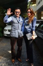 Kareena Kapoor, Saif Ali Khan at sashi kapoor_s xmas brunch on 25th Dec 2015 (34)_567e797ec6fab.JPG