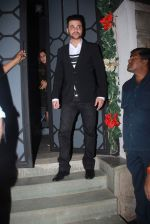 Sanjay Kapoor at Khan family dinner in Nido on 25th Dec 2015