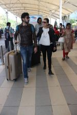 Dia Mirza snapped at airport on 26th Dec 2015