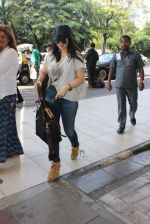 Ayesha Takia snapped at Airport on 28th Dec 2015