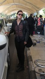 Dia Mirza snapped at Airport on 28th Dec 2015
