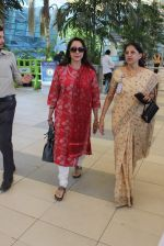 Hema Malini snapped at Airport on 28th Dec 2015