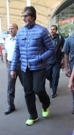 Amitabh Bachchan at domestic ariport on 29th Dec 2015 (5)_56838cc777636.JPG