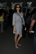 Dia Mirza snapped at airport on 31st Dec 2015